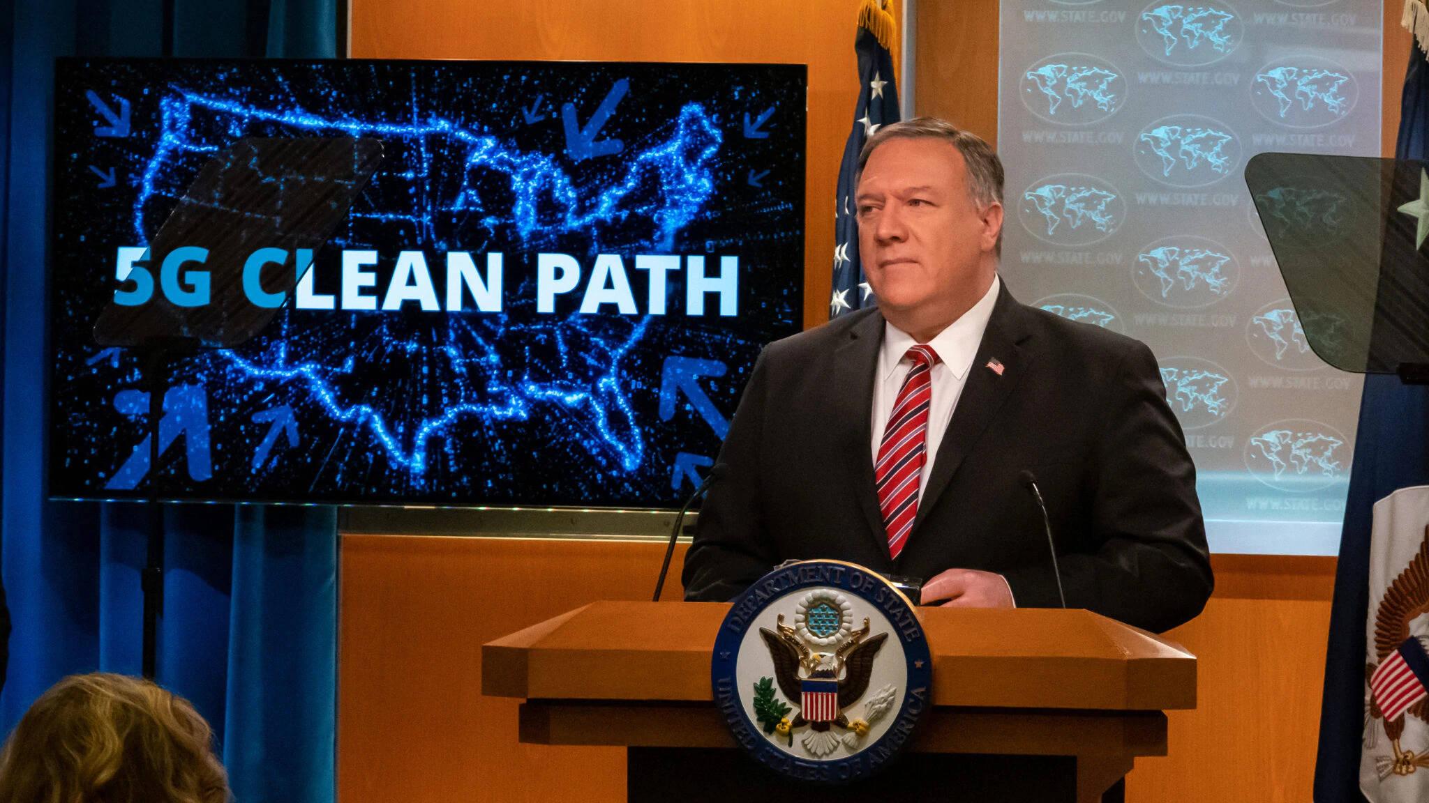 """化学物质美国务院炮制""""干净5G""""名单"""