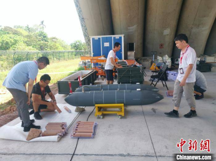 中国首次高空大型无人机台风综合观测试验成功