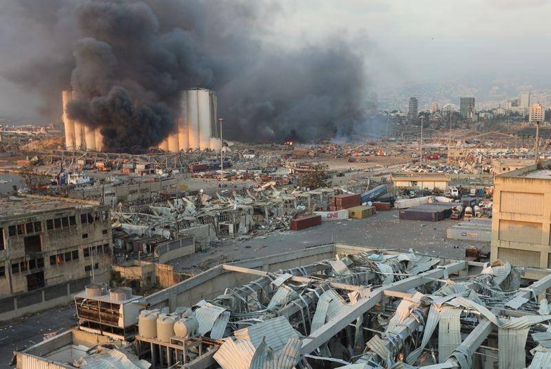 黎巴嫩首都发生剧烈爆炸黎国内安全局局长:不会先发制人展开调查