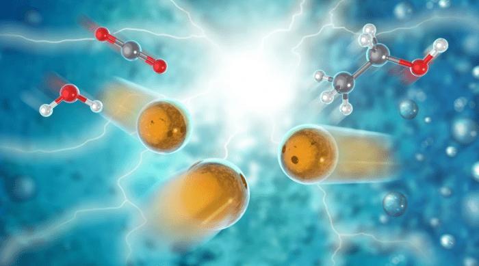 科学家发现新型催化剂  可将二氧化碳和水转化为乙醇