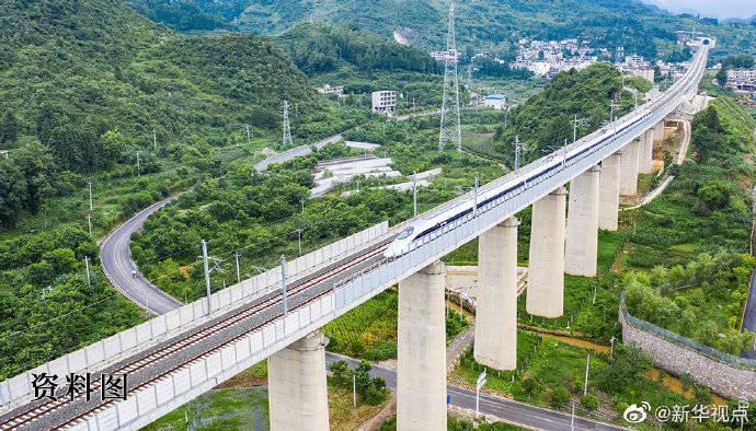 """2035年我们将有这样的""""铁路强国""""——全国铁路网20万公里、高铁7万公里"""