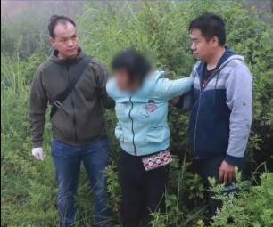丽江被抱走3岁男孩在山洞中被成功解救 人贩子被捕画面曝光
