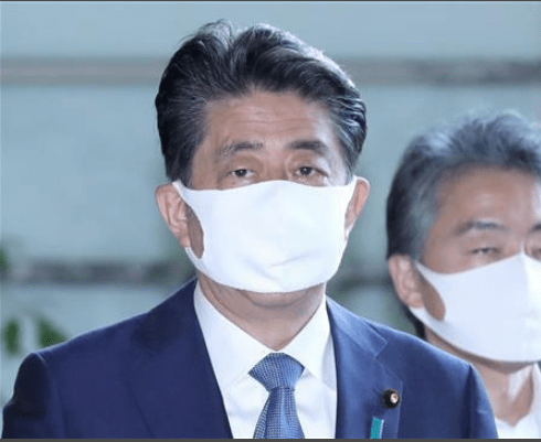 安倍正式宣布辞去日本首相一职