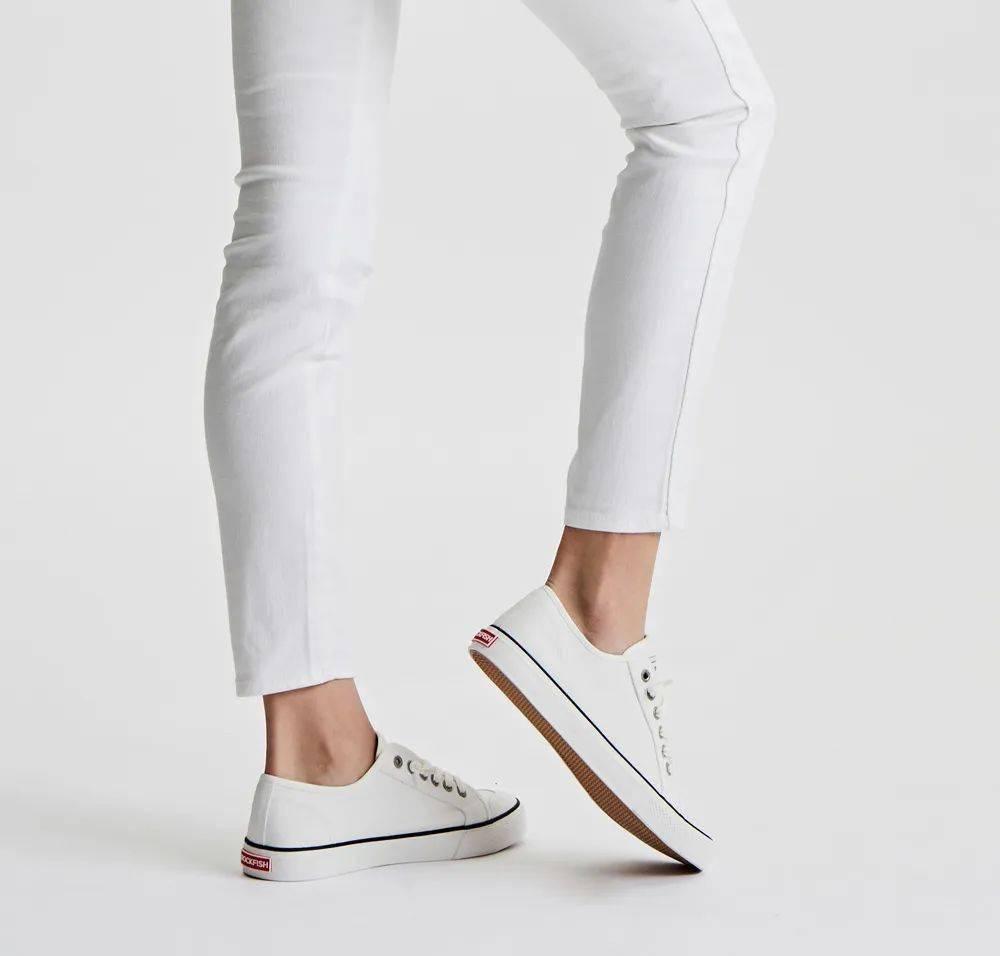 小白鞋带的系法图解