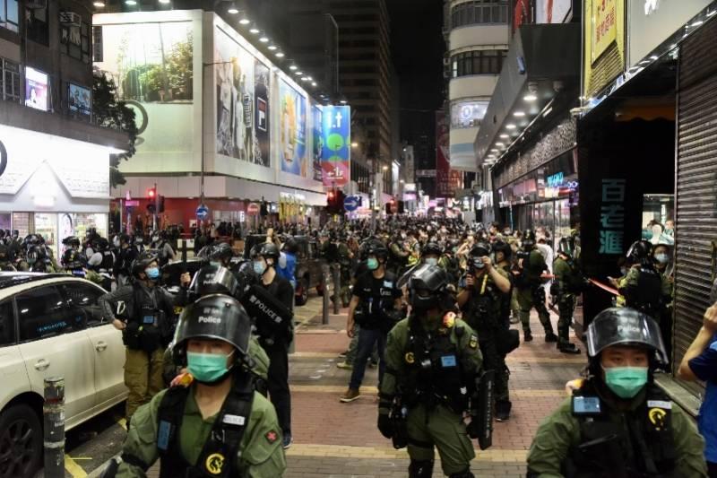 香港警方执法至少拘捕289人,其中270人涉嫌非法集结