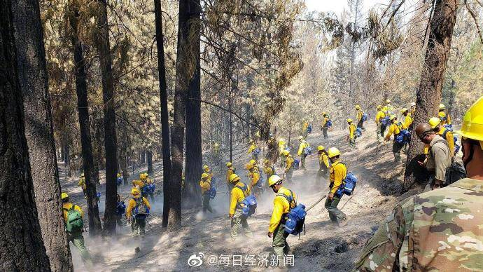 受山火威胁 美国加州关闭八处国家森林