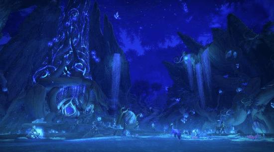 暴雪公布《魔兽世界》原创动画:《炽蓝仙野》