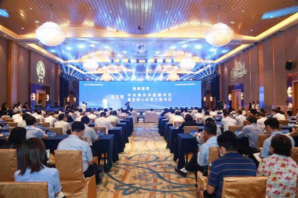 会上,南京市委副书记、资东区党工委书记沈文祖致辞 南京体育中考项目