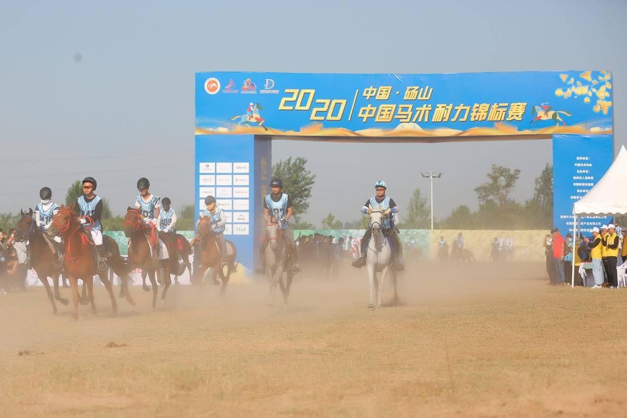 2020年中国马术耐力锦标赛砀山开赛