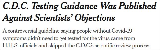 """""""美国疾控中心的科学家害怕极了,无论怎么做都摆脱不了甩锅"""":"""