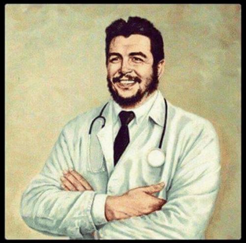 不当革命者,切·格瓦拉也许能做个不错的医生