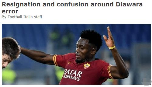 罗马队首轮比赛派上未注册球员,或许被判0-3