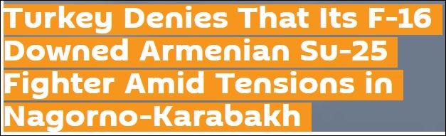 亚美尼亚称一架苏