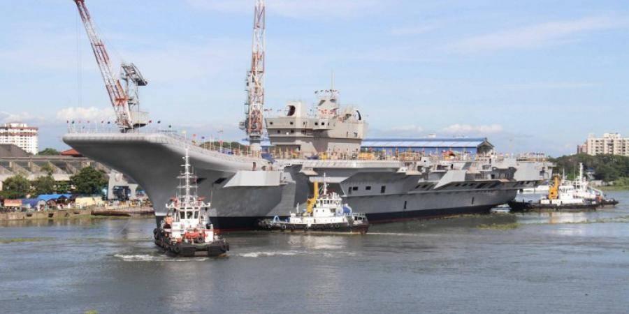 印度首艘国产航母将在本月迎来重大节点试验 计划年底出海