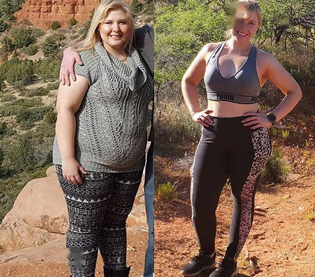 230斤女生减肥1年半,减掉了100斤,她分享了4个减肥心得