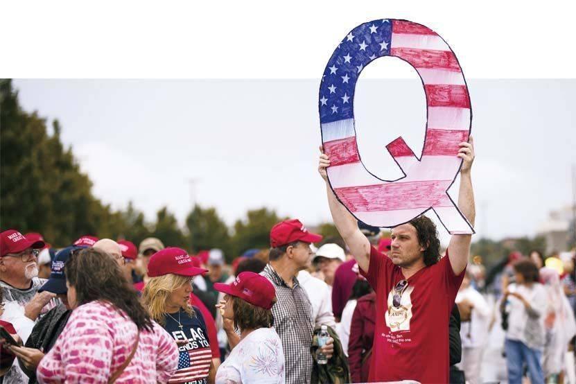"""""""匿名者Q"""":阴谋论者的狂欢"""