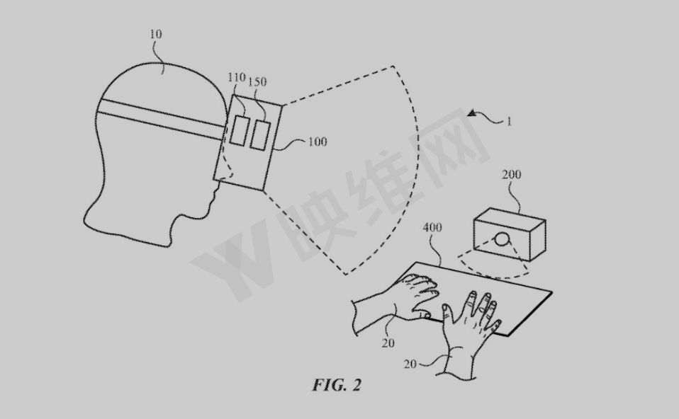 专利暗示苹果AR/VR设备支持投射于任意表面的虚拟