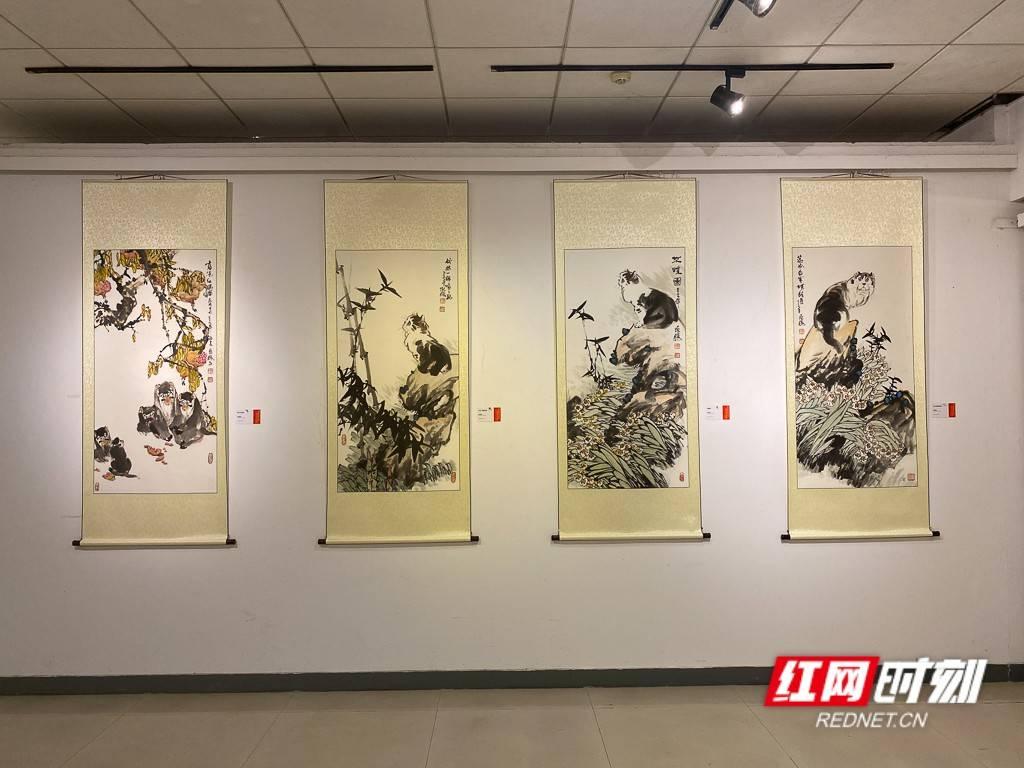 丹青绘时代 40余名书画家作品汇集长沙简博美庐美术馆