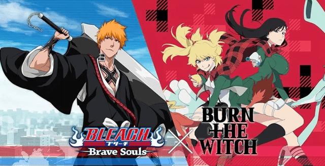 《BLEACH》联动《BURN THE WITCH 龙与魔女》妮妮・史潘柯尔与新桥乃慧琉等角色即将登场!