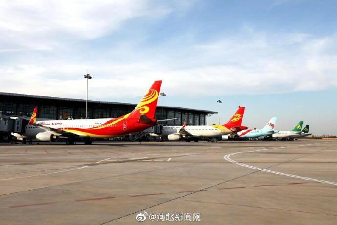 10月25日起,石家庄机场将新开石家庄-宜昌-广州航线