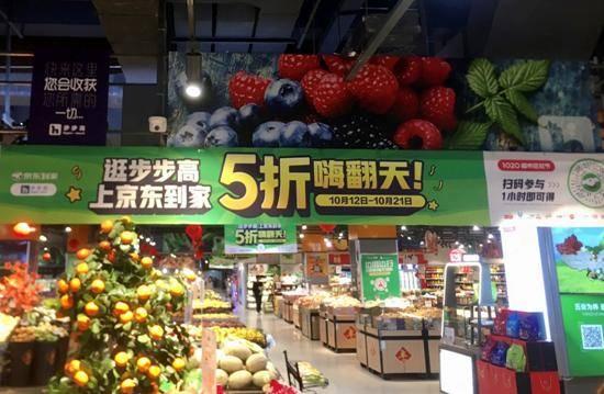 京东到家1020:千城热卖、1小时达,下沉市场销售额达去年同期4.4倍