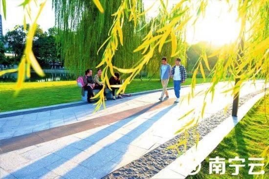重阳节广西天气干爽带上家人登高去