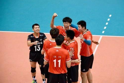 全国男排锦标赛第二阶段交叉赛:北京胜广东