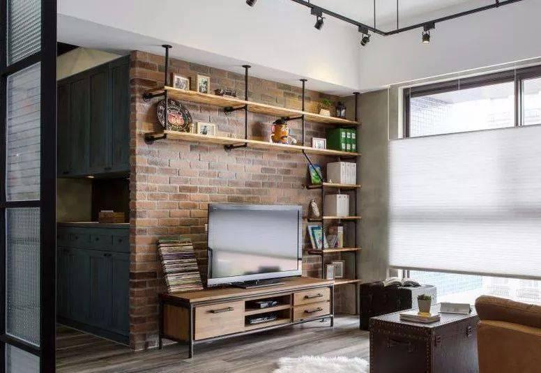 分享小户型客厅背景墙设计,简单好看就行,别花哨!
