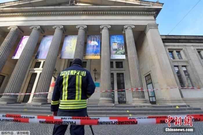 德10亿欧元珠宝失窃案发生一年后 三名嫌疑人被捕