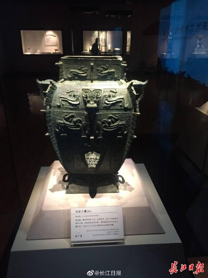"""一起来看武汉博物馆 """"十大精品文物"""" :商代贵族生活、明朝三镇轮廓……呈现眼前"""