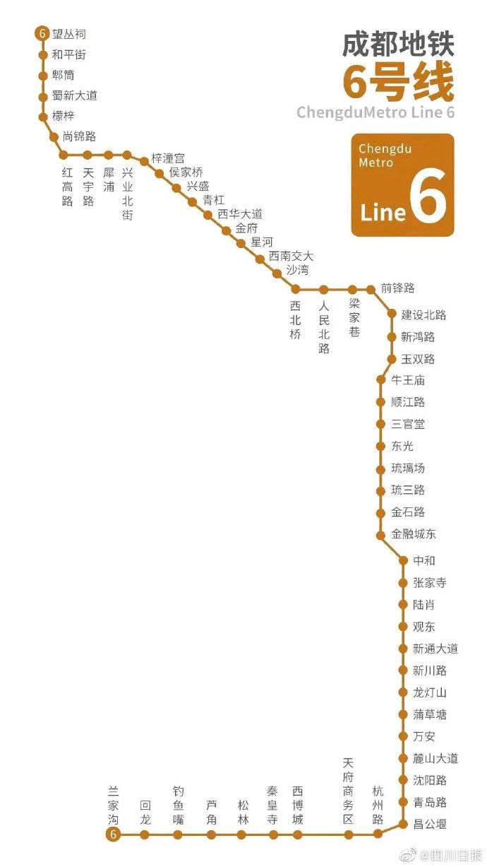 通过验收!成都地铁6号线和8号线马上要来啦!