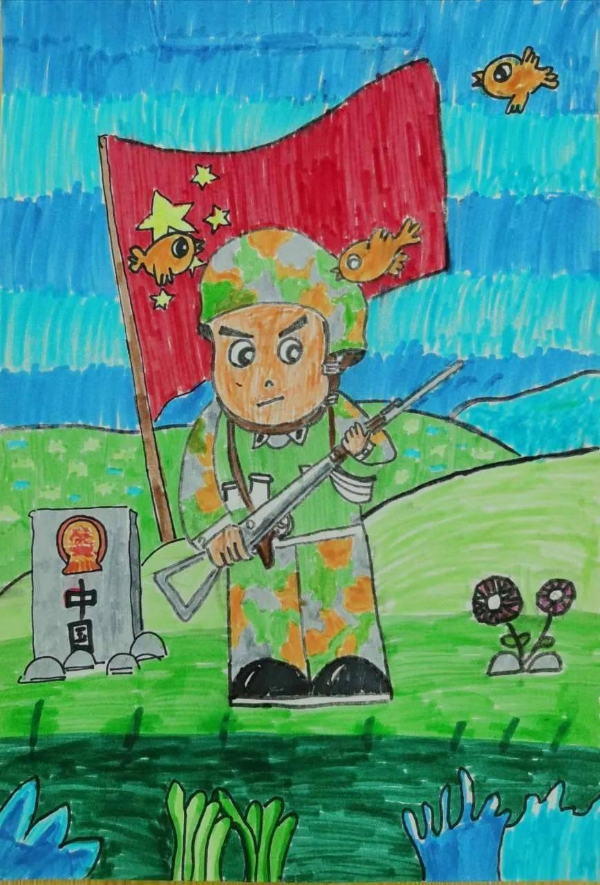 国庆节儿童图画大全