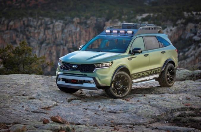 起亚两款全新概念车发布 专供山地和沙漠地形