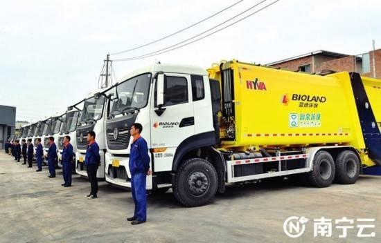 南宁市垃圾分类工作进入全国第一档