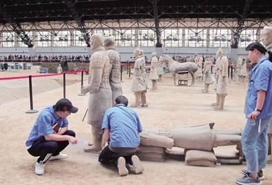 秦兵馬俑或由不同作坊獨立制作 具體情況是怎么回事?