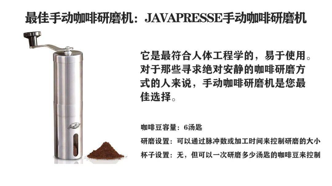 您一定想拥有这样的咖啡研磨机 博主推荐 第10张