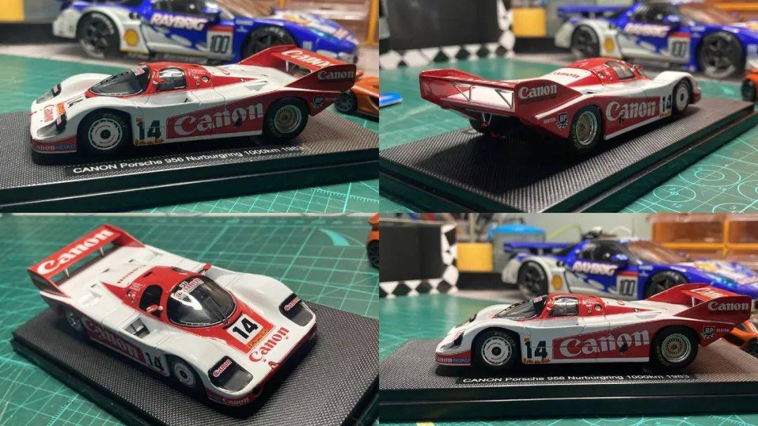 爱拆车模|物美价廉!EBBRO 1:43保时捷956赛车模型
