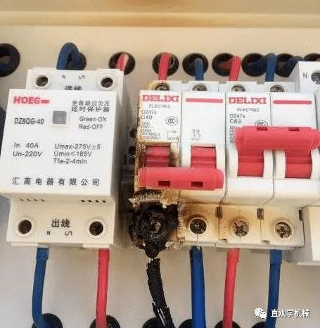 电线都燃了为什么空开不跳闸?80%的电工都不知道