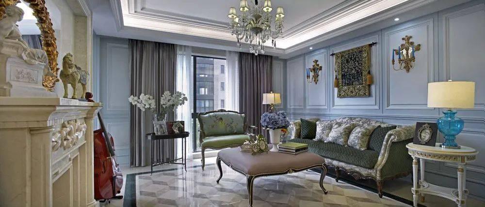 法式风格装饰,独特的美学理念让你家满是浪漫风情