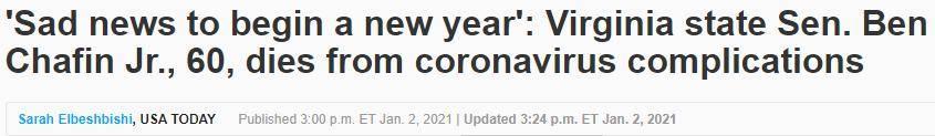 疫情最新消息!美国新冠确诊达近2083万、死亡人数超35.8万!1月份11.5万美国人恐死于新冠 网络快讯 第2张
