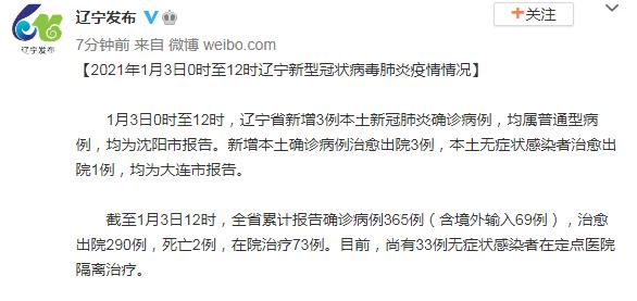 辽宁省沈阳市每15时,当地确诊新增病例3例;黑河市区及跨市服务的滴水、花猪及快速暂停;泰国首次发现变异型SARS-CoV-2感染