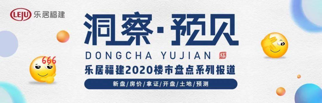 洞察2020丨福州237个新房在售,最高单价超4万/㎡!六区+闽侯真实房价揭底!  第10张