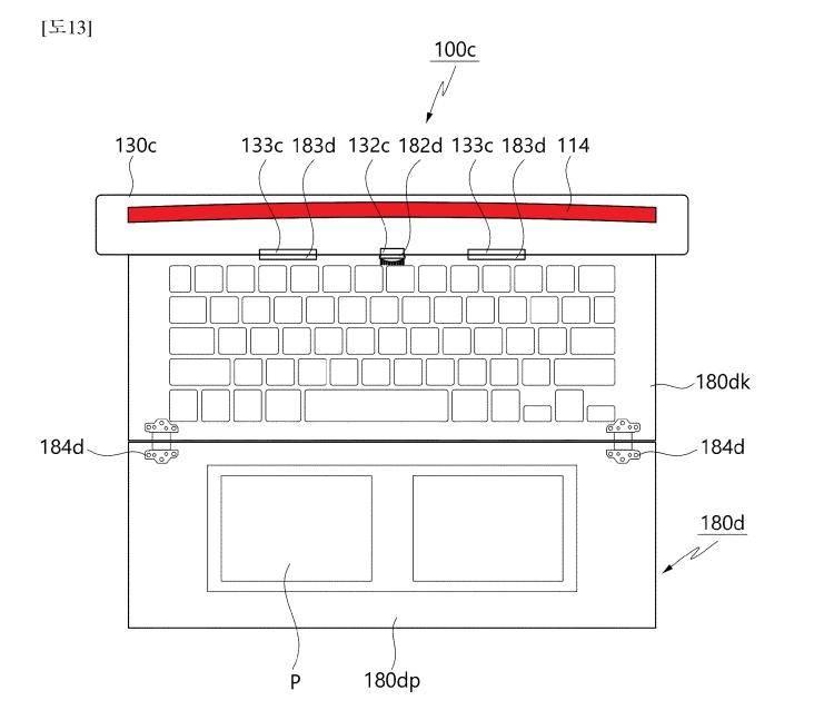 专利显示LG正在设计可卷曲屏幕的笔记本电脑