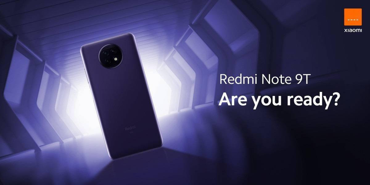 Redmi Note 9T上市日期确认:1月8日