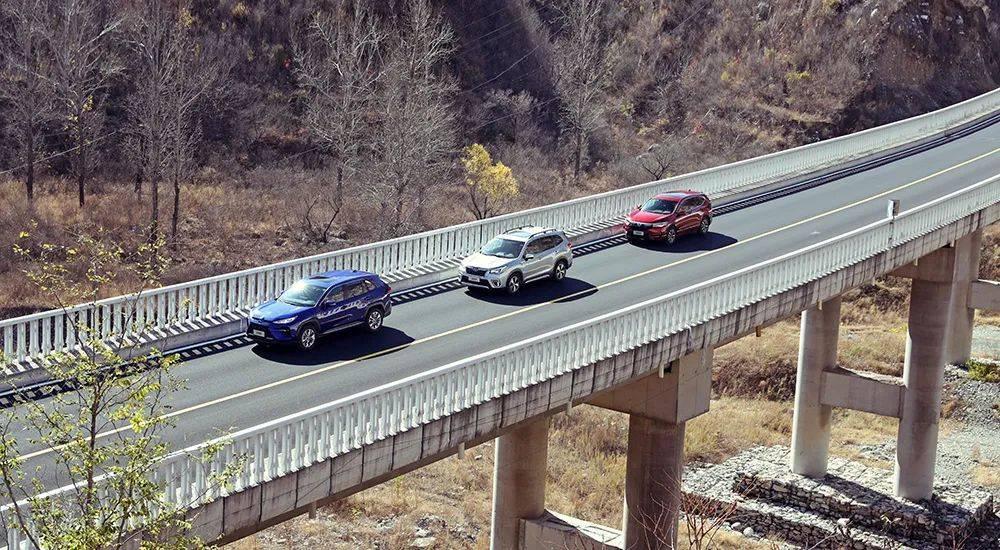 对比测试|还记得这个时代吗(下)广汽丰田威兰达双引擎VS广汽本田影子混动版VS斯巴鲁森林人志清