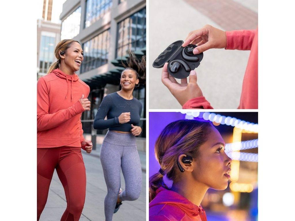 Bose 推出开放式真无线运动耳机 Sport Open Earbuds_赢咖4小时