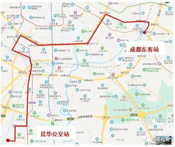来了!剑南大道快速公交春节前后开通