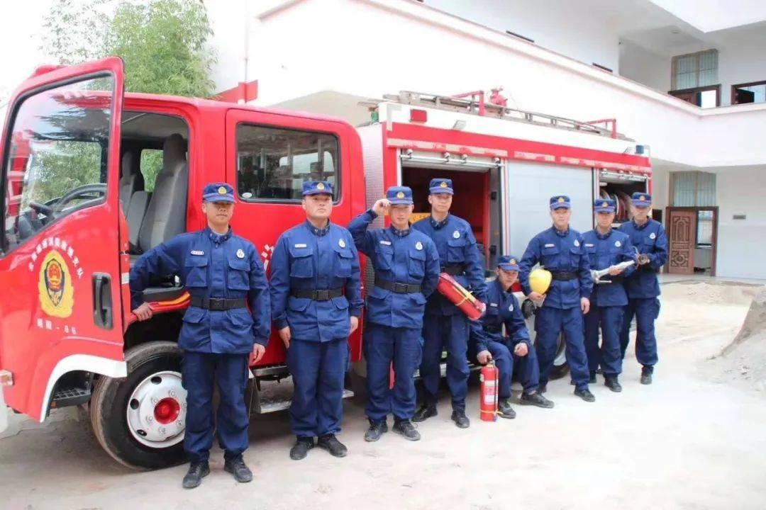老百姓身边的消防队