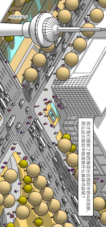 震撼!!!海淀分区规划动画上新了