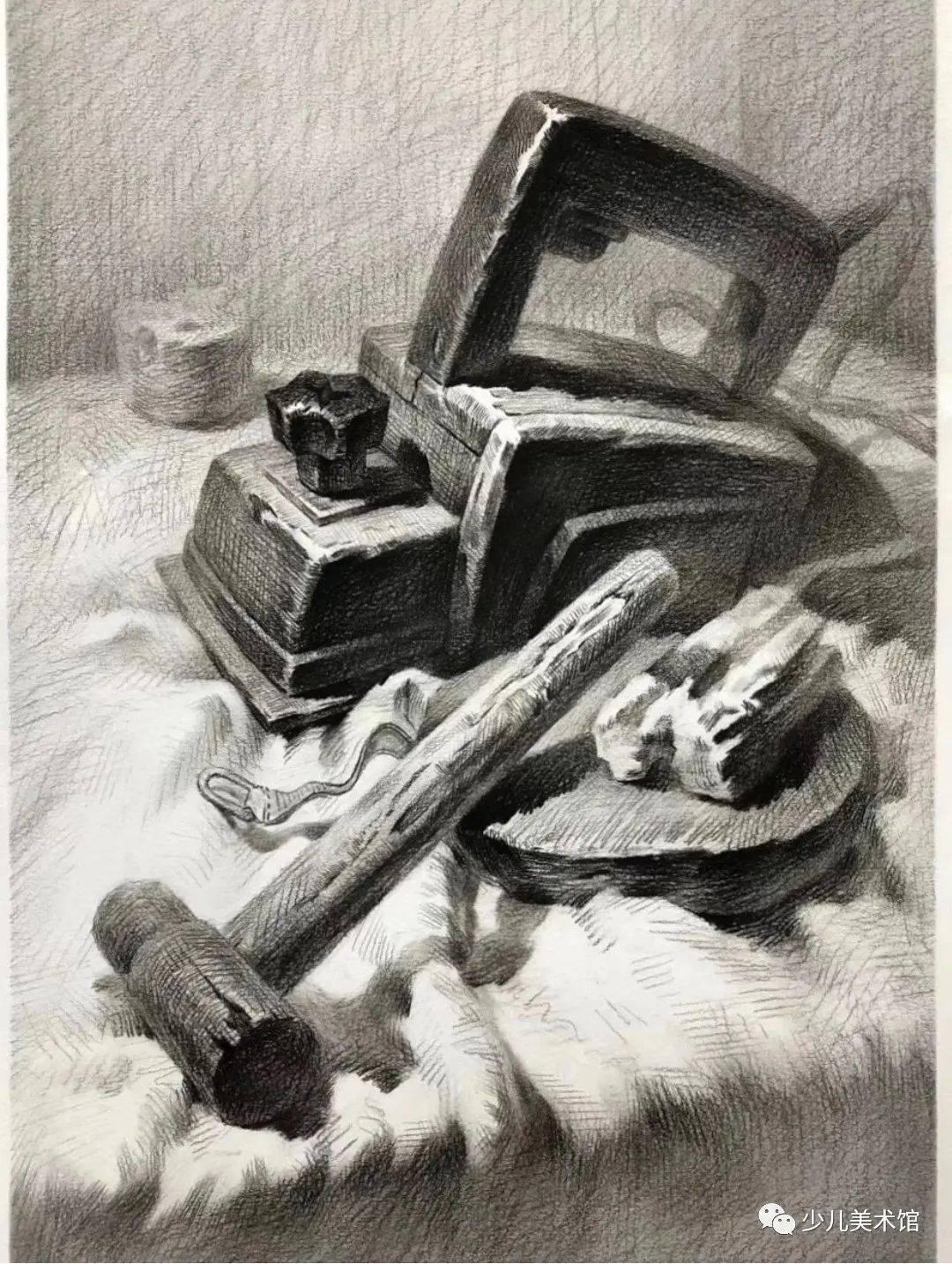 素描素材‖近百张大师素描作品+技法讲解,素描学习必备收藏!  第5张